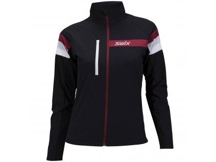 Dámská bunda vhodná na běžky i lyže SWIX FOCUS W Black