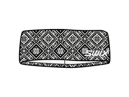 swix myrene headband black white print[1]