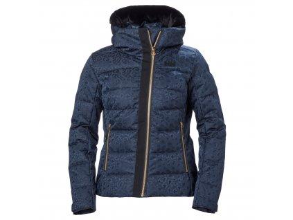 Dámská zimní bunda HELLY HANSEN W Valdisere Puffy Jacket Navy