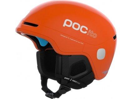 Přilba POC POCito Obex SPIN Fluorescent Orange