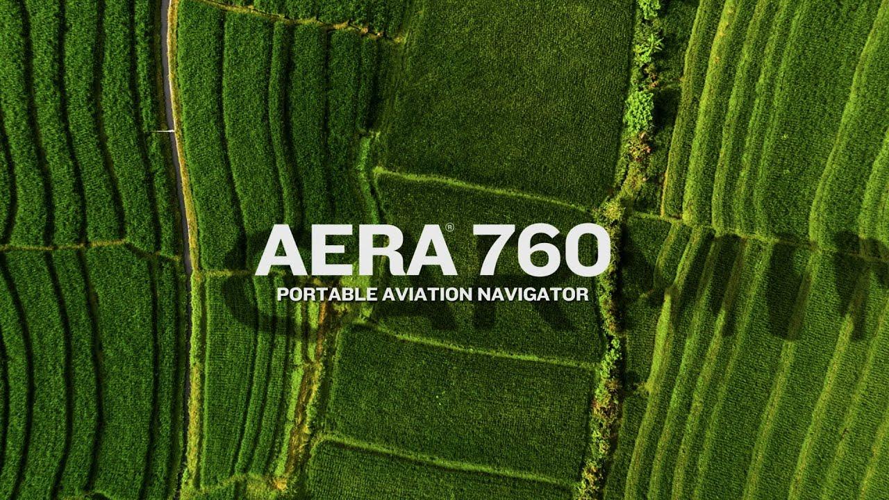 Nová přenosná letecká navigace Garmin