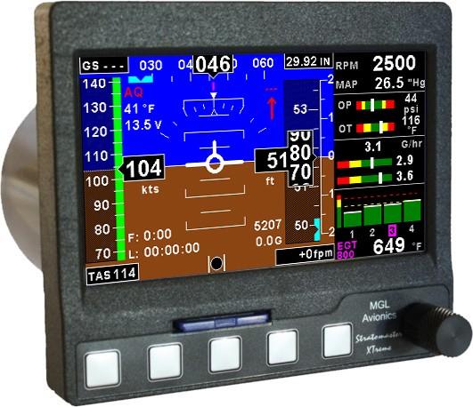 Mini EFIS MGL Avionics