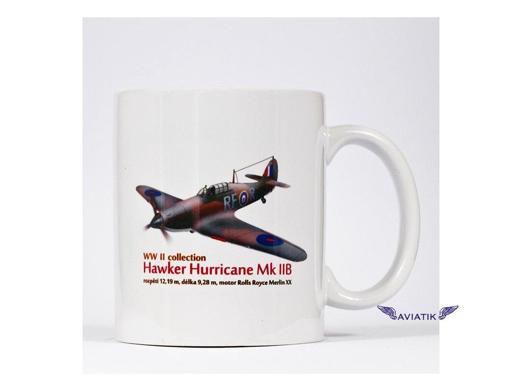 Hrnek s potiskem Hawker Hurricane Mk. II B