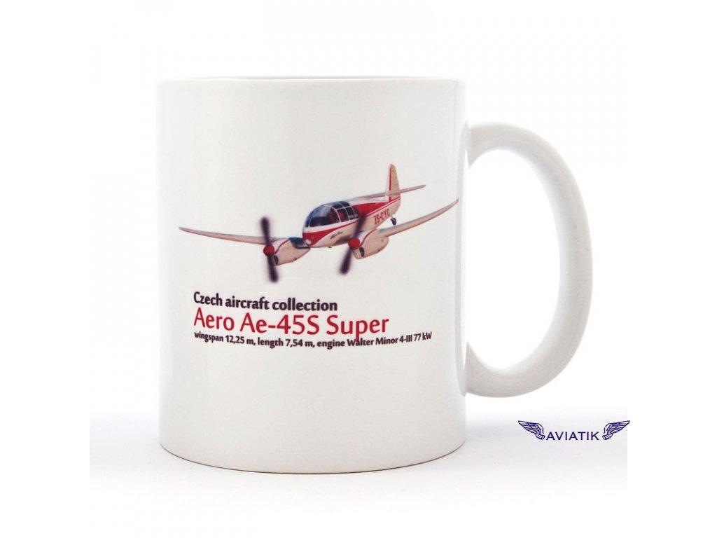 Hrnek s potiskem Aero Ae 45S Super