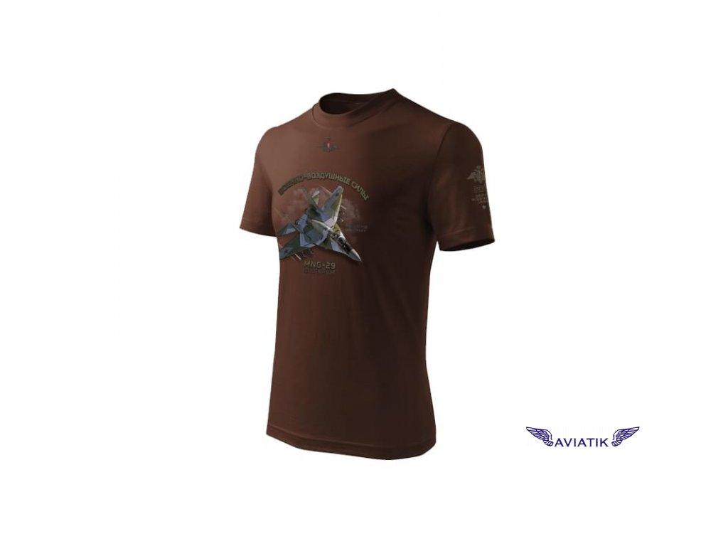 Tričko se stíhačkou MIG 29 RUS