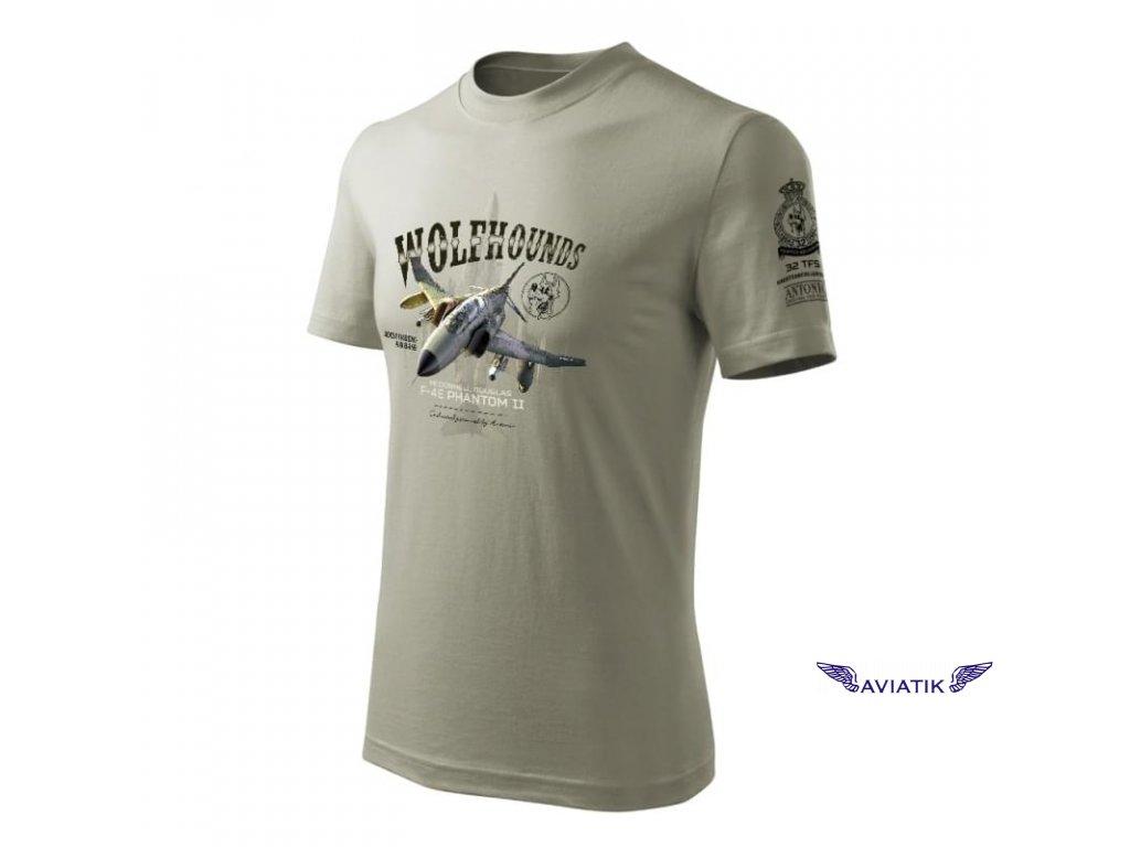 Tričko se stíhačkou F 4E PHANTOM II