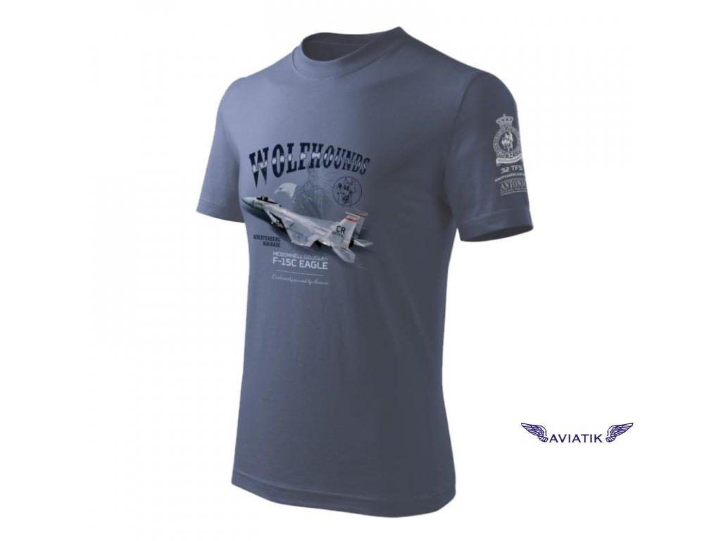 Tričko se stíhačkou F 15C EAGLE