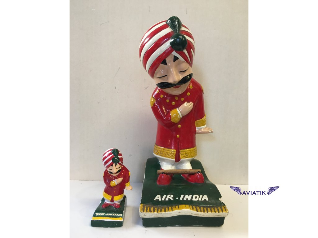 Air India - reklamní figurína