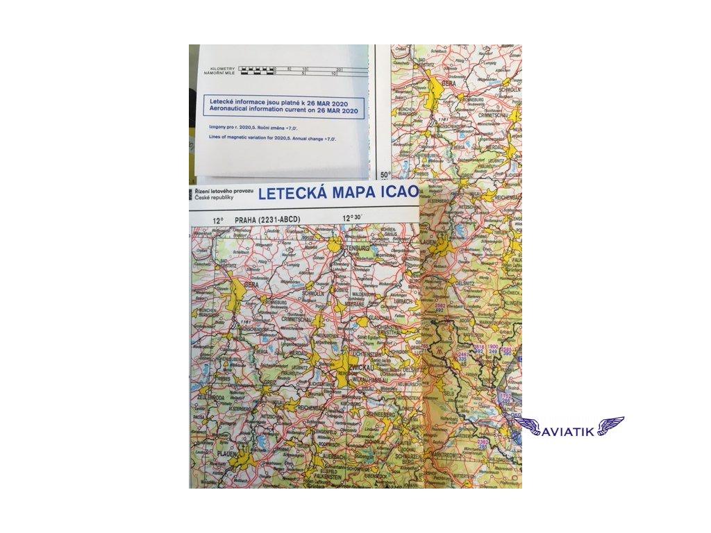 Icao mapa 2020