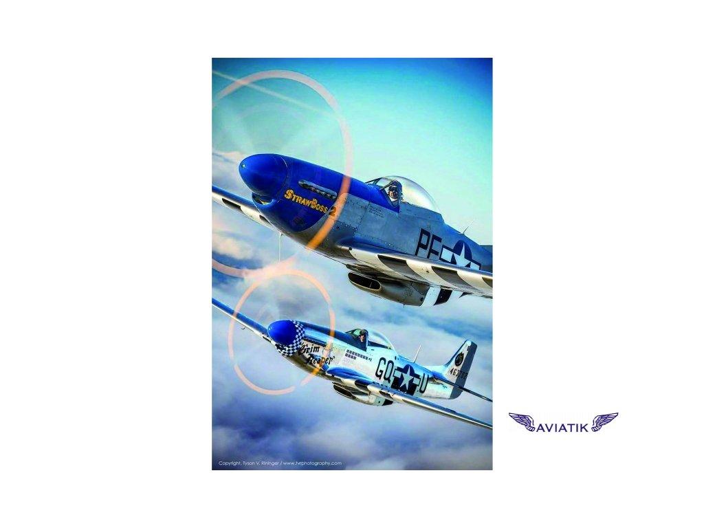 Letecký poster