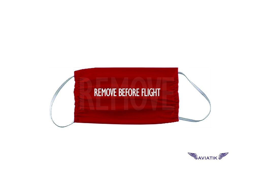 Rouška Remove Before Fly