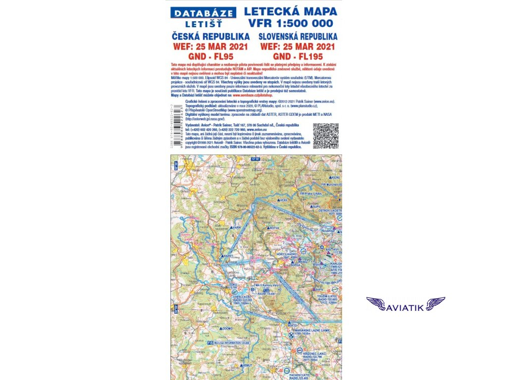 Letecká mapa 2021