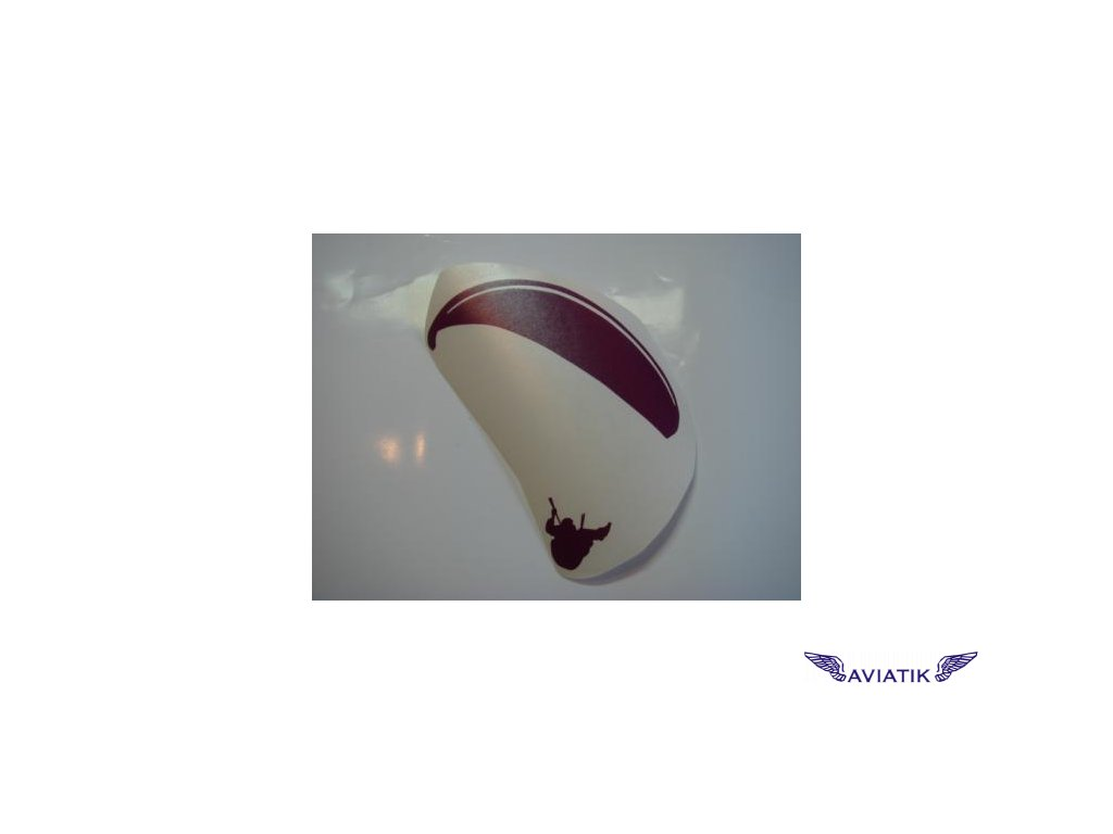 Samolepka paragliding reflexní