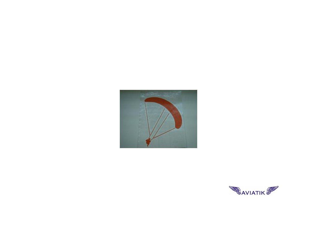 Samolepka paragliding