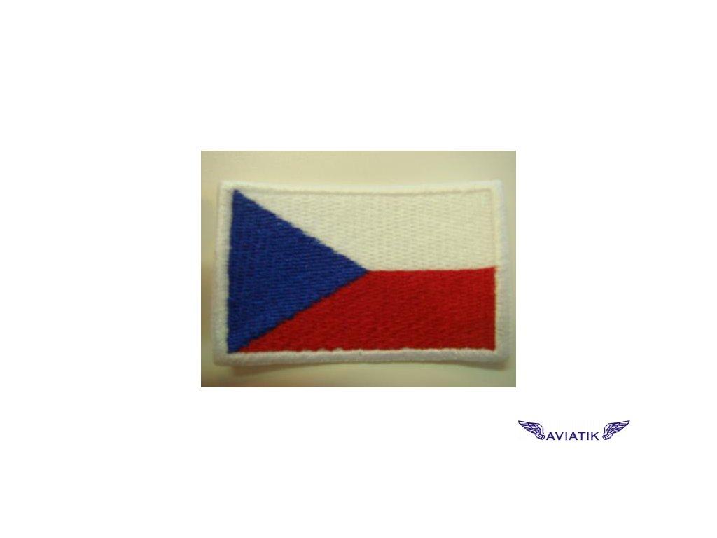Nášivka vlajka ČR