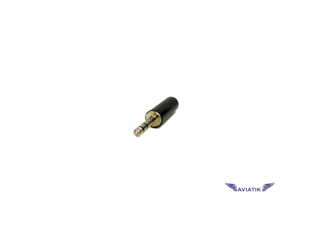 Konektor /plug/ pro mikrofon na kabel