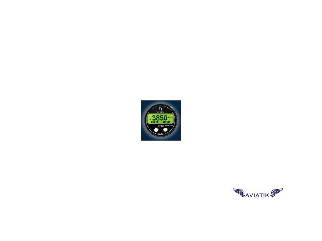 OTÁČKOMĚR S MOTOHODINAMI TL-2824