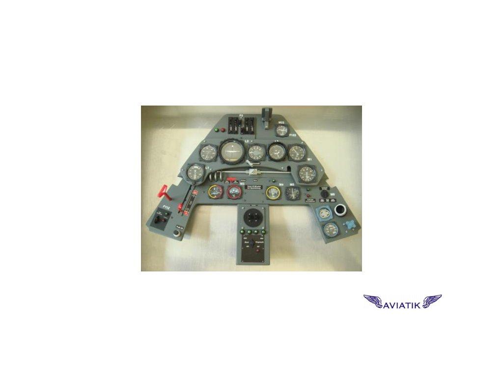 Přístrojový panel FOCKE WULF Fw - 190 A