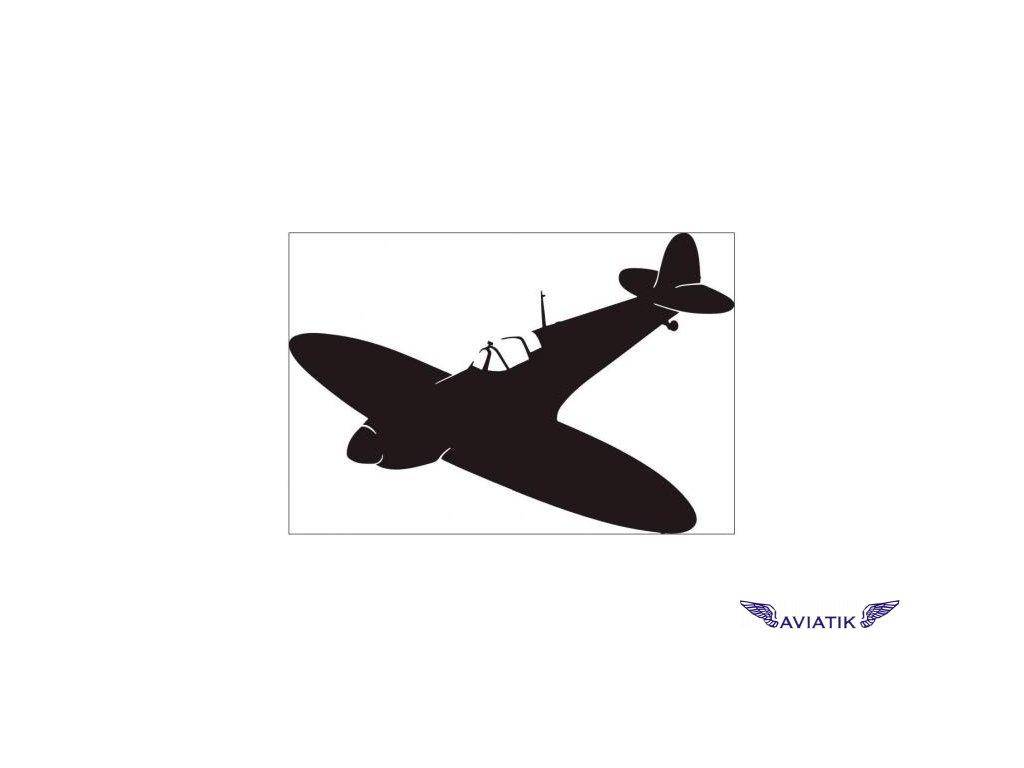 Samolepka Spitfire