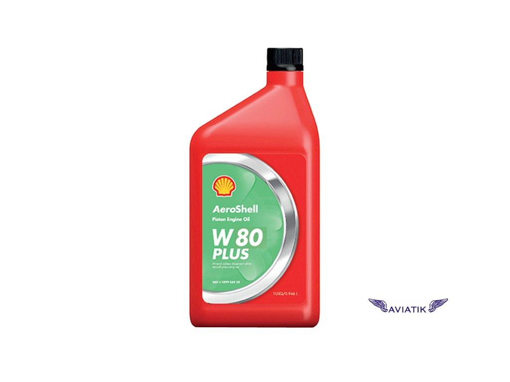 Lubricating oil AeroShell W 80