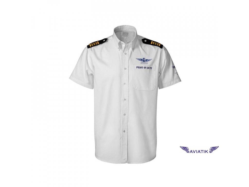 Košile letecká PILOT ON DUTY