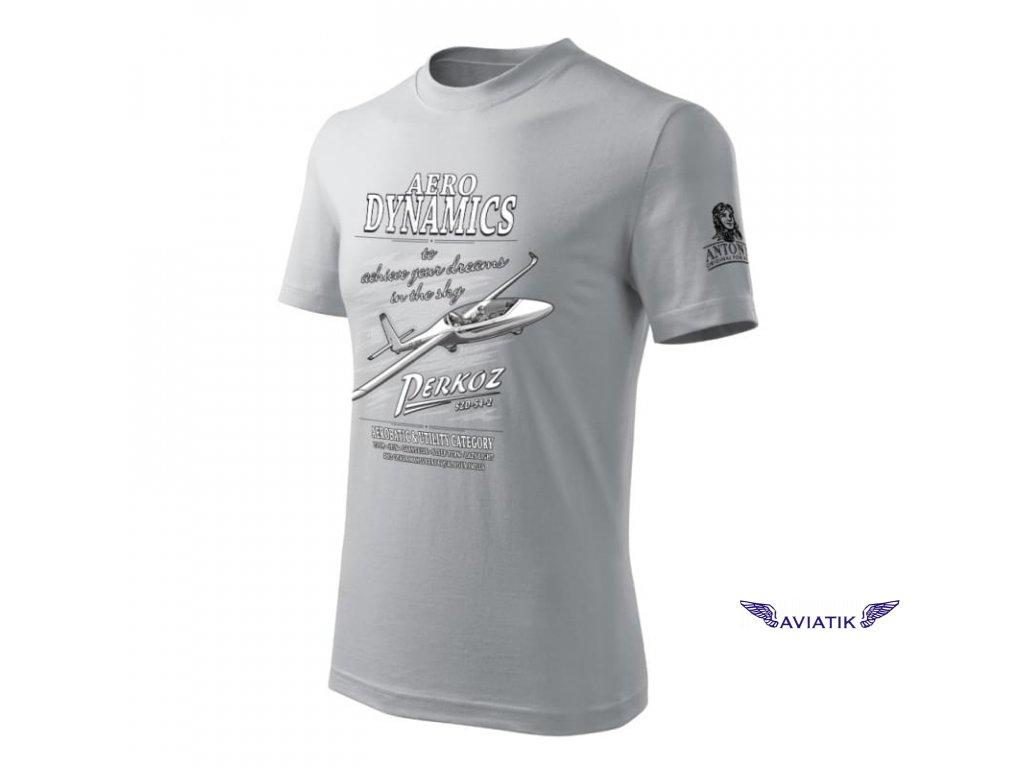Tričko s větroněm SZD 54 2 PERKOZ