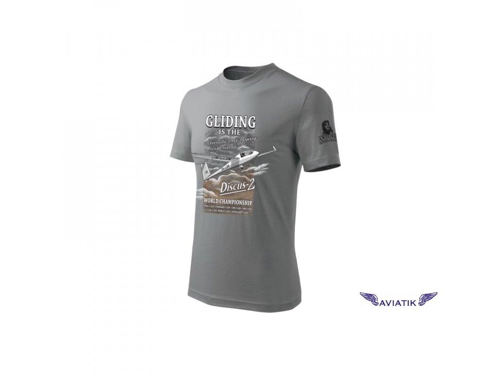 Tričko s větroněm DISCUS 2