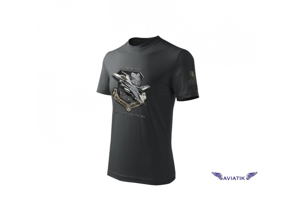 Tričko se stíhačkou F 16CJ FIGHTING FALCON