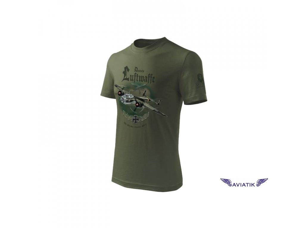 Tričko s bombardérem DORNIER 17