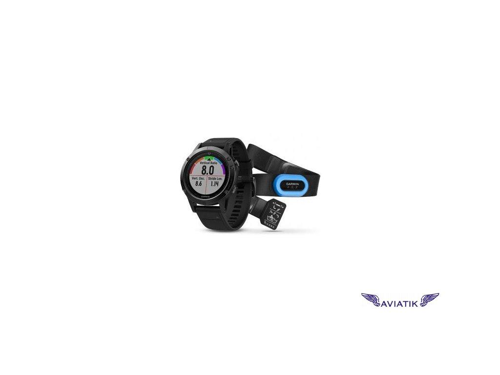 Garmin fenix5 Sapphire Black Optic TRI Performer,