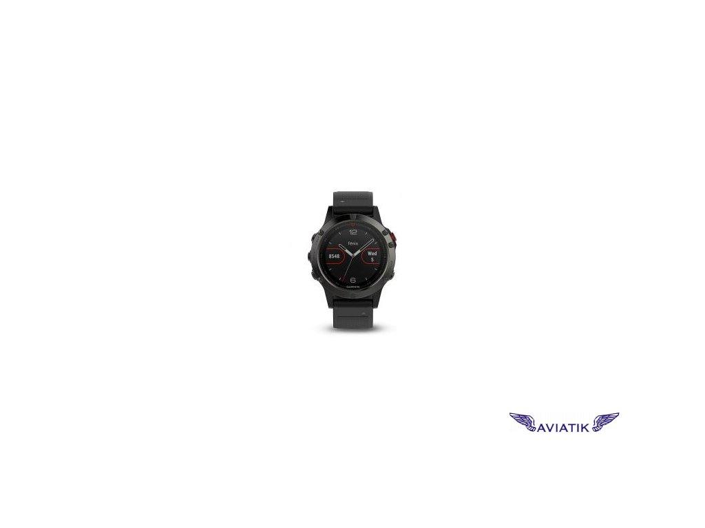 Garmin fenix5 Gray Optic , Black band