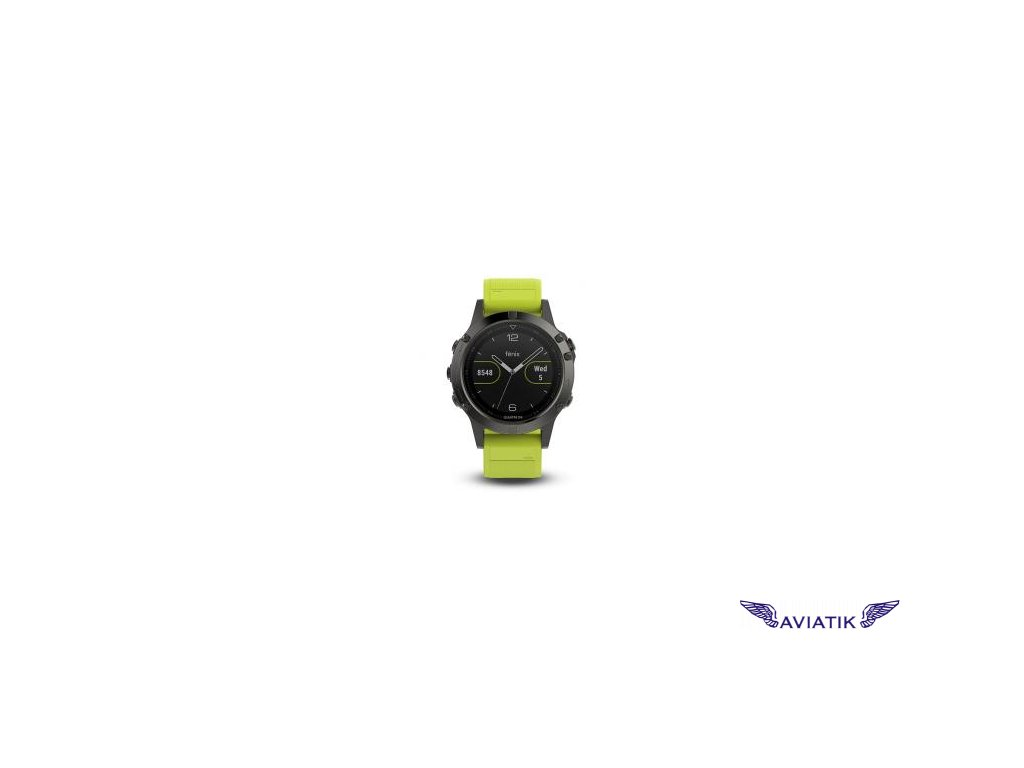 Garmin fenix5 Gray Optic, Yellow band