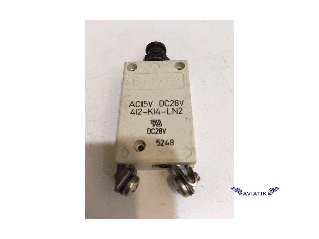 ETA pojistka 412-K14-LN2  412-K14-LN2