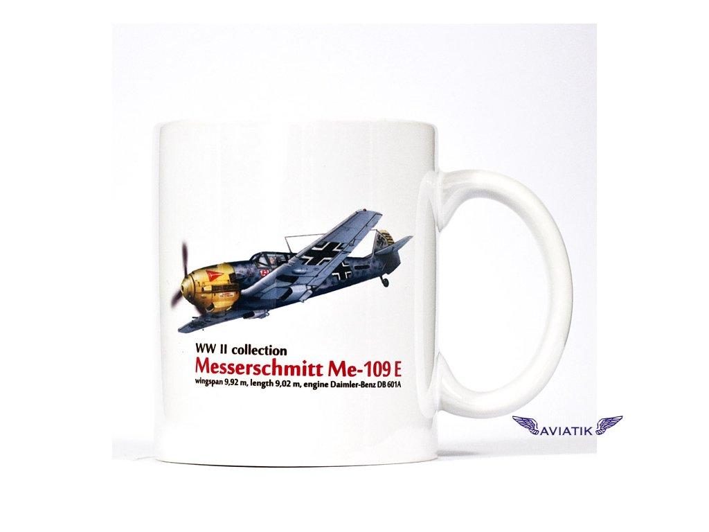 Hrnek s motivem Messerschmitt 109 E