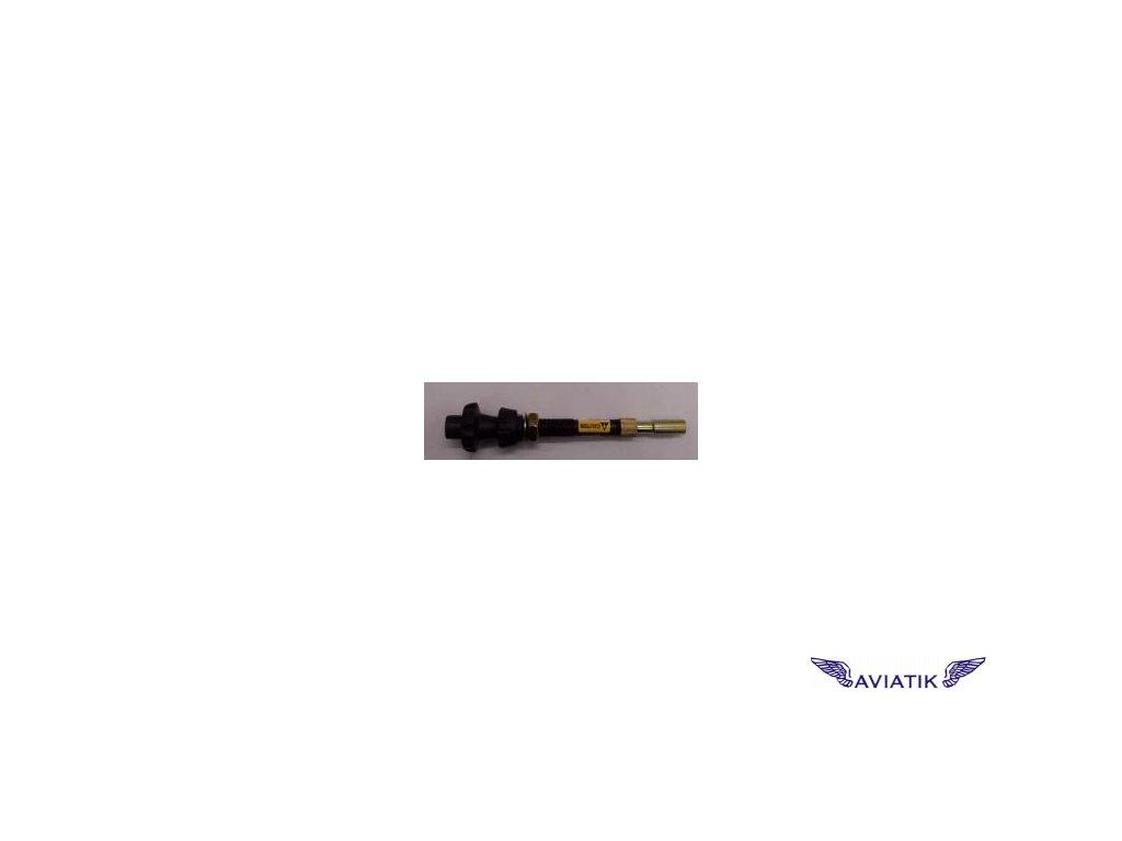 Ovládání plynu pro jeden karburátor