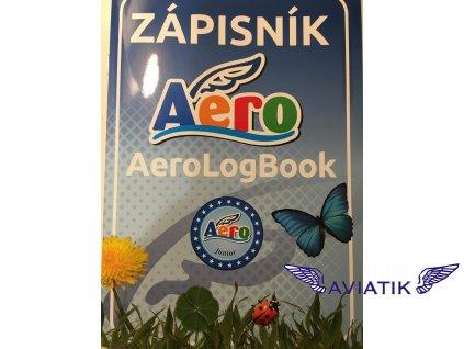 Zápisník AeroLogBook Junior