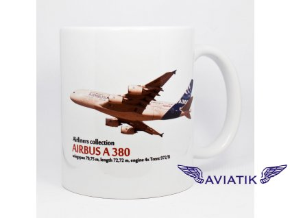 Hrnek s potiskem Airbus A380