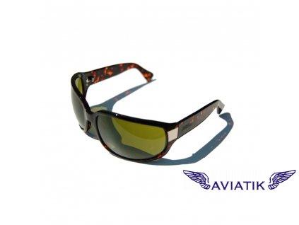 CR333TPG CARUSO sunglasse UV Blue light IR HD green 72