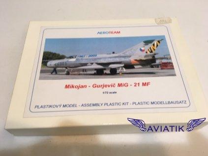 MiG - 21 MF plastikový model  MiG-21MF