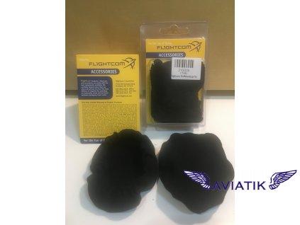 Návleky na sluchátka  ochrana sluchátek Flightcom