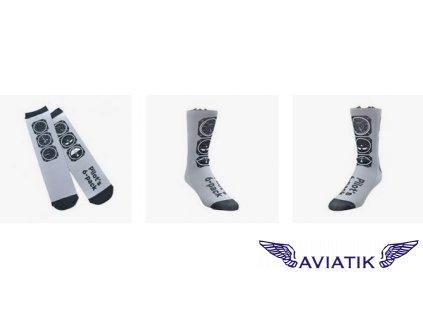 Ponožky letecké přístroje