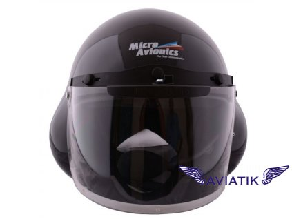 integral helmet black front 2 7