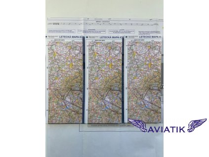 Letecká mapa ICAO 2021