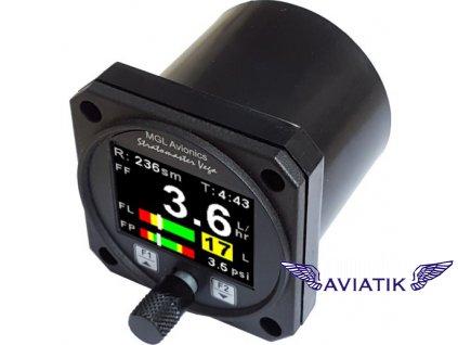 Palivový computor MGL Avionics Vega FF-4
