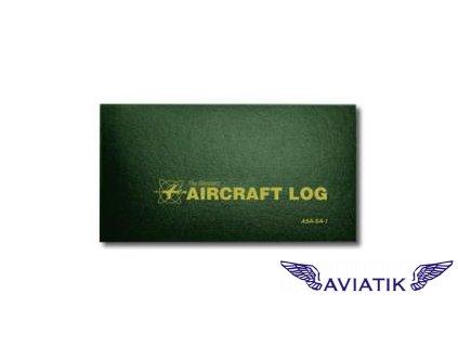 Letecký palubní deník (Aircraft Log)  letadlová kniha