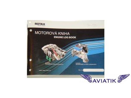 Motorová kniha ROTAX  Motorová kniha