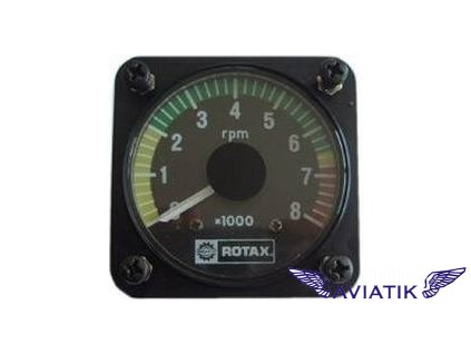 Otáčkoměr ROTAX  Tachometer 0-8000 RPM