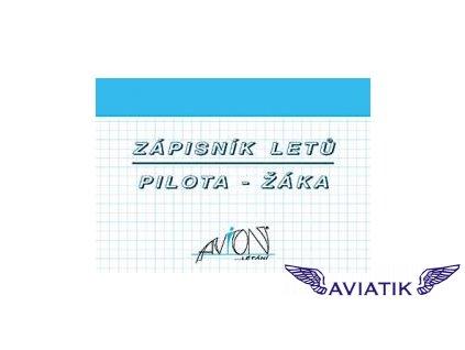 Zápisník letů pilota žáka AVION  Zápisník žáka (pilota)