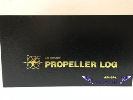 ASA PROPELLER LOGBOOK BLACK SOFTCOVER pn ASA SP L large
