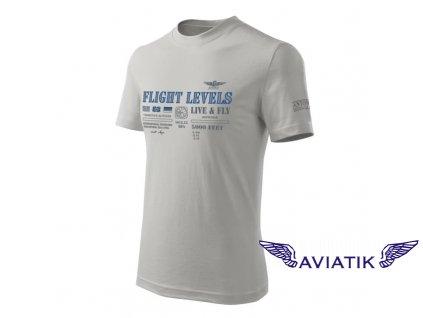 Tričko letové hladiny FLIGHT LEVELS